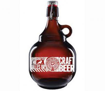 2L Growler glass bottle