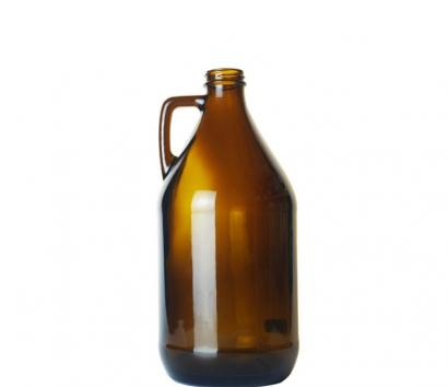 1.8L Amber Glass Bottle for Beer