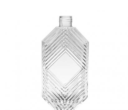 750ml Universal Mould Glass Bottle with Threaded Neck