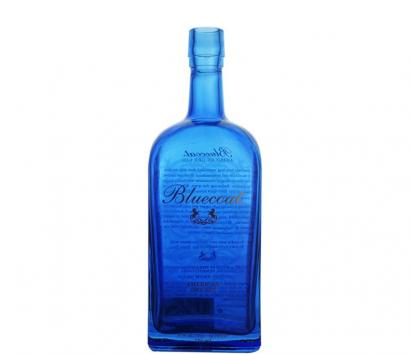 glass bottle with coating