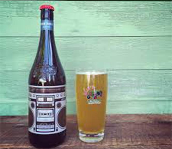 Amber Beer Glass Bottle