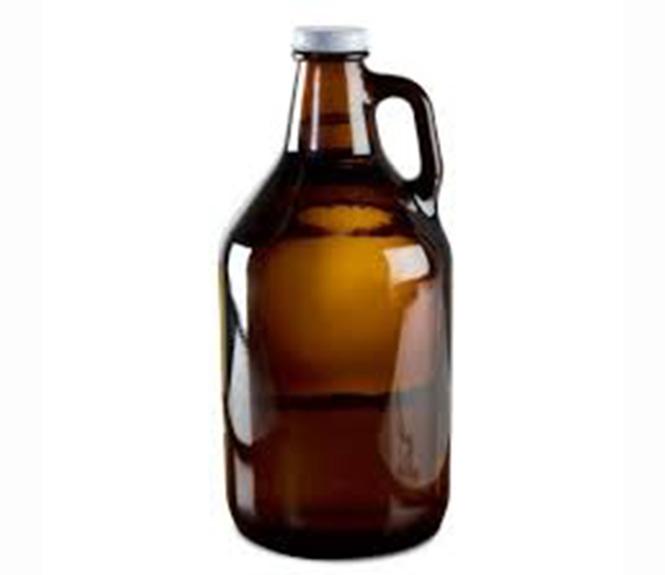 2L Growler California Glass Bottle