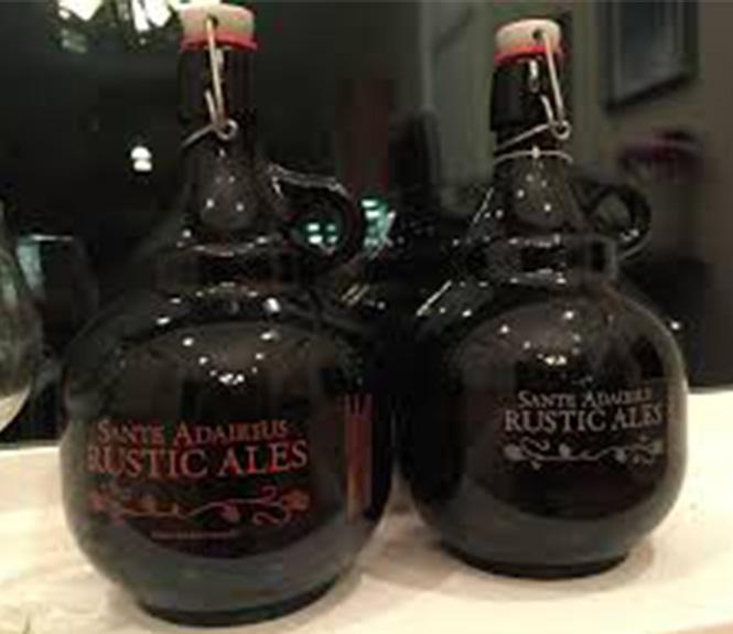 2L Growler Glass Bottle